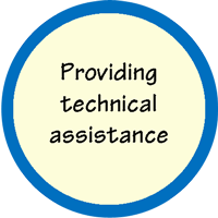 Providing technical assistance