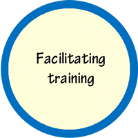 Facilitating training